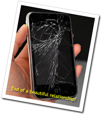 broken iPod