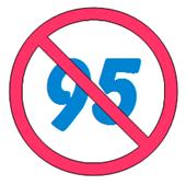 no to 95