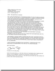 Charles Taylor letter fuzzy